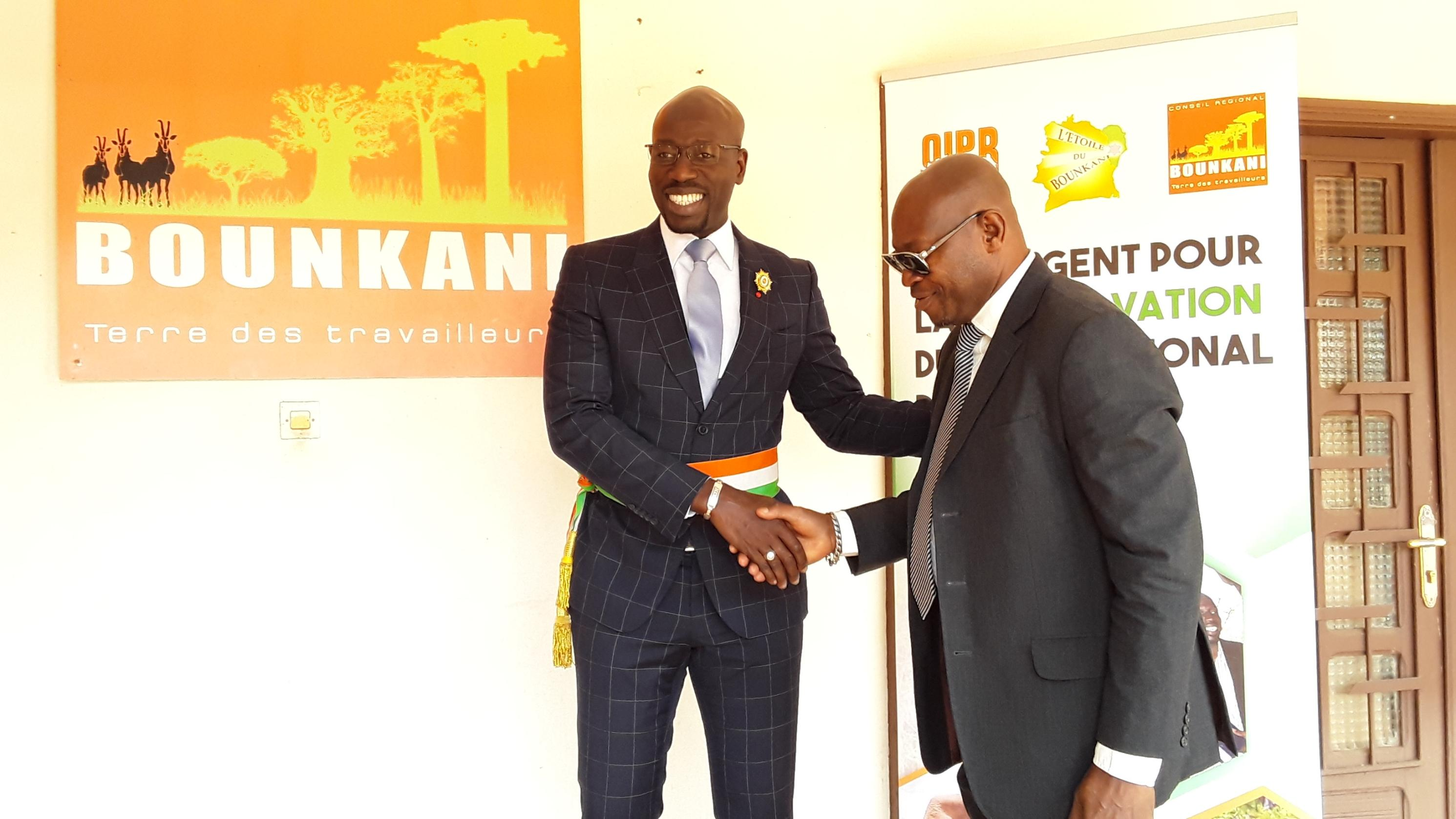 Côte d'Ivoire/ Voeux des personnels du Conseil régional du Bounkani au président Hien Philippe