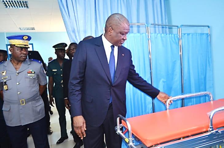 Côte d'Ivoire,hôpital militaire,HMA,Hamed Bakayoko
