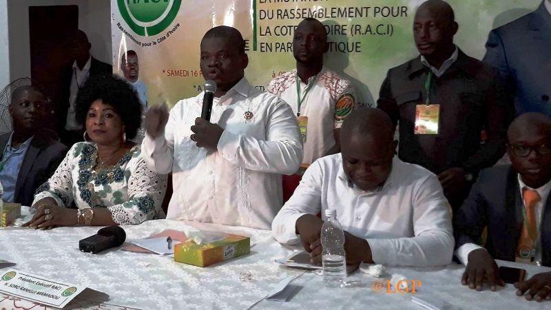 Côte d'Ivoire,RACI,parti politique