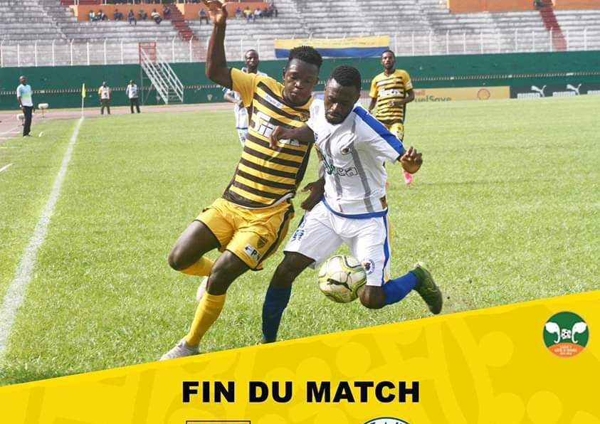 Football,Mtn Ligue 1,Football/ Mtn Ligue 1 ( 17e journée )  L'Asec Mimosas tenu en échec par le Sporting club de Gagnoa