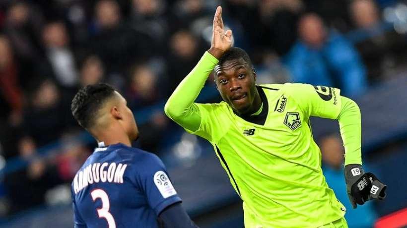 Football,France,Nicolas Pépé,Meilleur joueur du mois de janvier