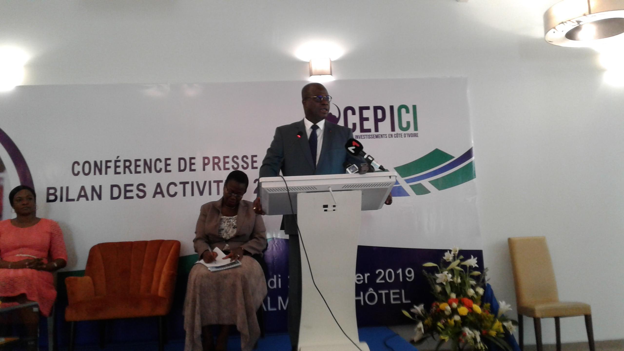 Côte d'Ivoire,Cepici,Bilan