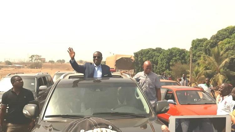 Côte d'Ivoire,Guillaume Soro,Ferké,Accueil