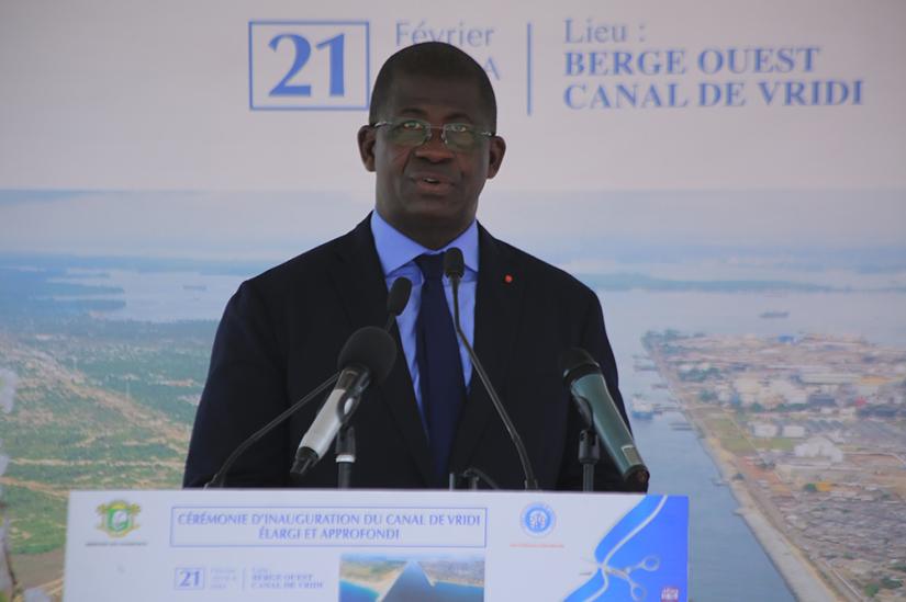 Port d'Abidjan,Élargissement,Gon Coulibaly