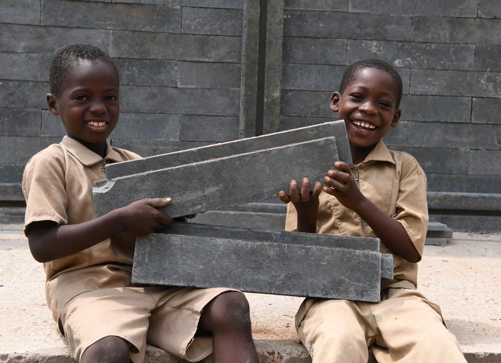 Côte d'Ivoire,UNICEF,Déchets plastiques,Construction