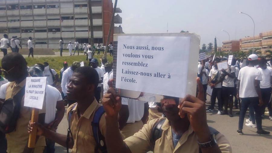 Côte d'Ivoire,Conseil des ministres,Grève des enseignants