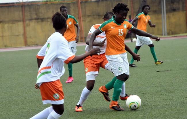 Football,les Éléphantes de Côte d'Ivoire,Tournoi Ufoa B