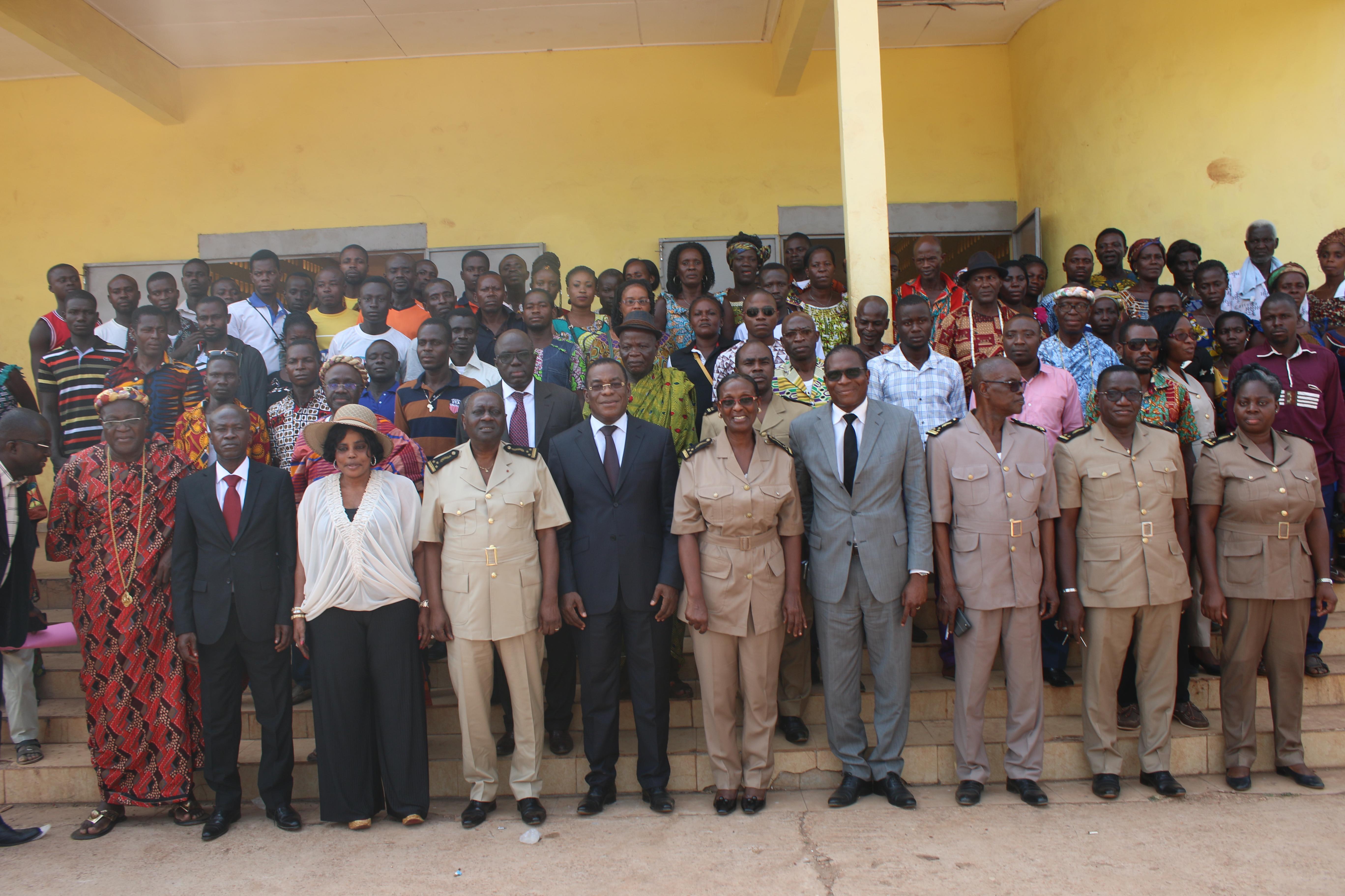 Mbatto,Litige foncier entre la famille Offoumou Baka et des planteurs Agnis,Moronou,Agnéby-Tiassa,Affi N'Guessan