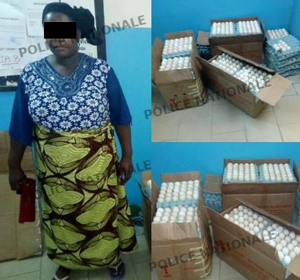 Abidjan: La police interpelle une vendeuse d'œufs toxiques