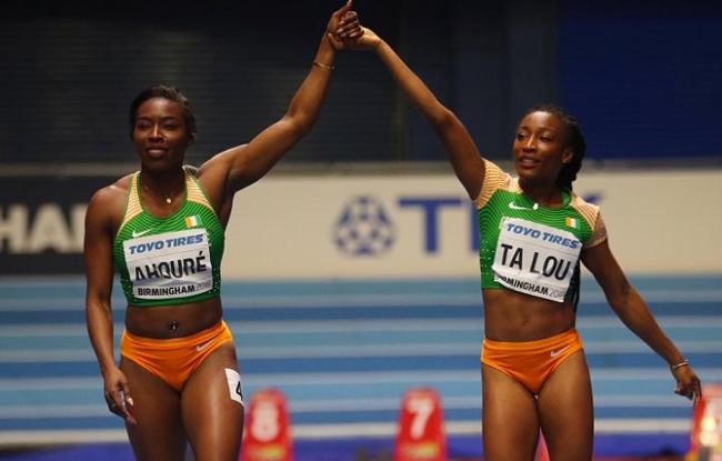 Athlétisme,Championnat d'Afrique des moins de 18 et 20 ans,Ta Lou Marie Josée,Murielle Ahouré