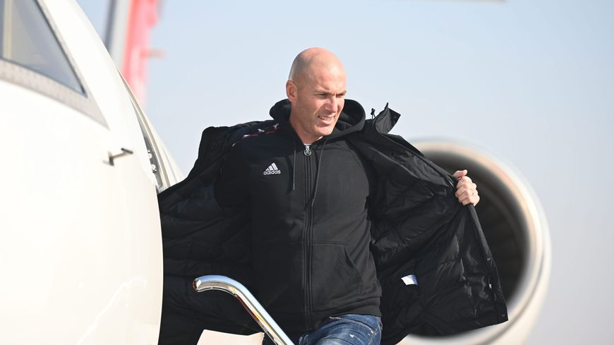 Football,Zinedine Zidane,Real Madrid,retour