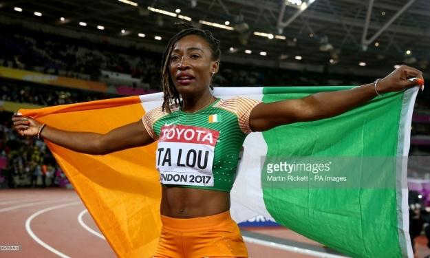athlétisme,Championnat,Afrique,U18,U20,Marie Josée Ta Lou