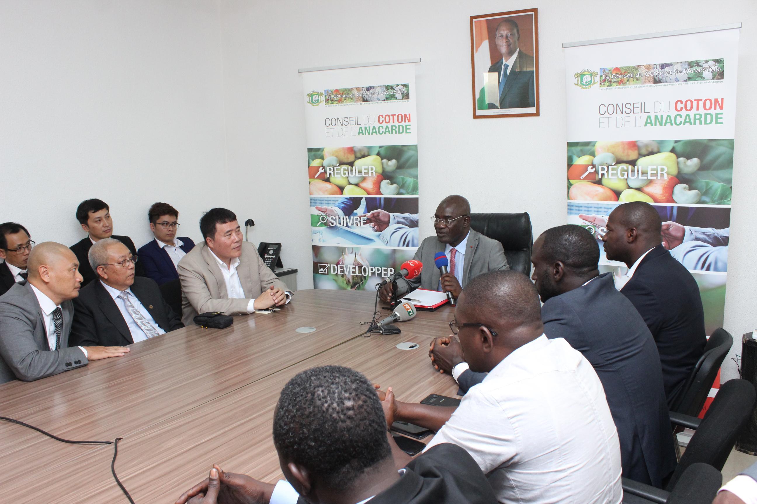 Côte d'Ivoire,anacarde,Conseil du coton et de l'anacarde,transformation