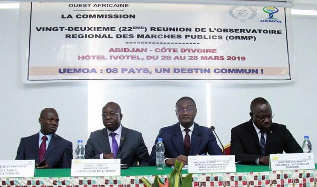 Côte d'Ivoire,marchés publics,22e réunion