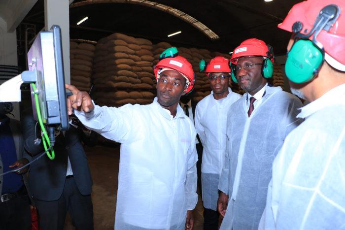 Transformation cacao,Abidjan,Usine