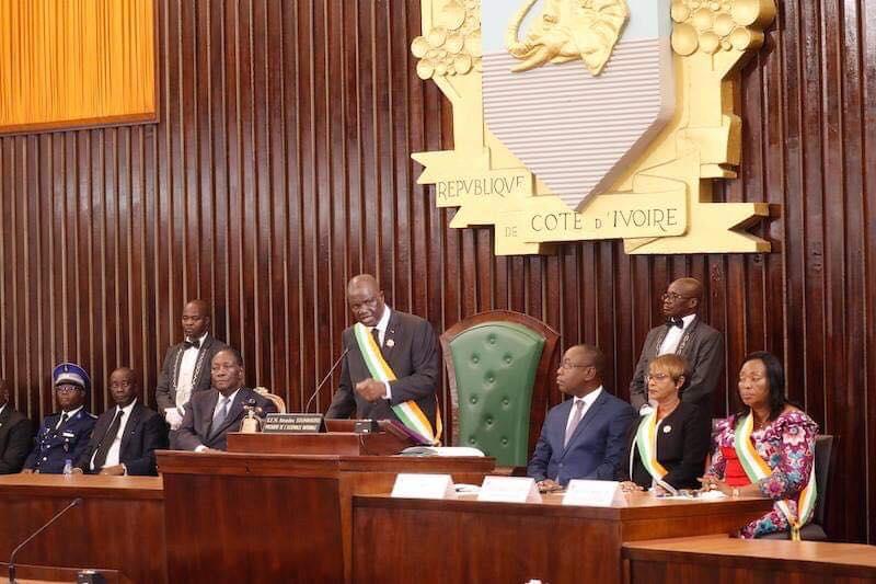 Assemblée nationale,rentrée solennelle,Amadou Soumahoro