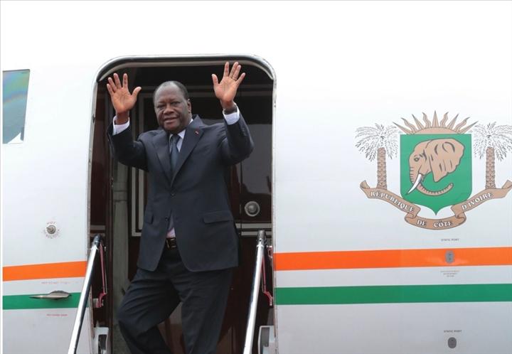 Côte d'Ivoire,Alassane Ouattara,Dakar,investiture Macky Sall