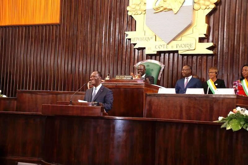 Assemblée nationale,Côte d'Ivoire,Discours du Chef de l'Etat