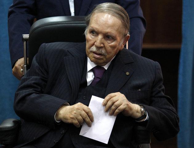 Algérie,Abdelaziz,Démission