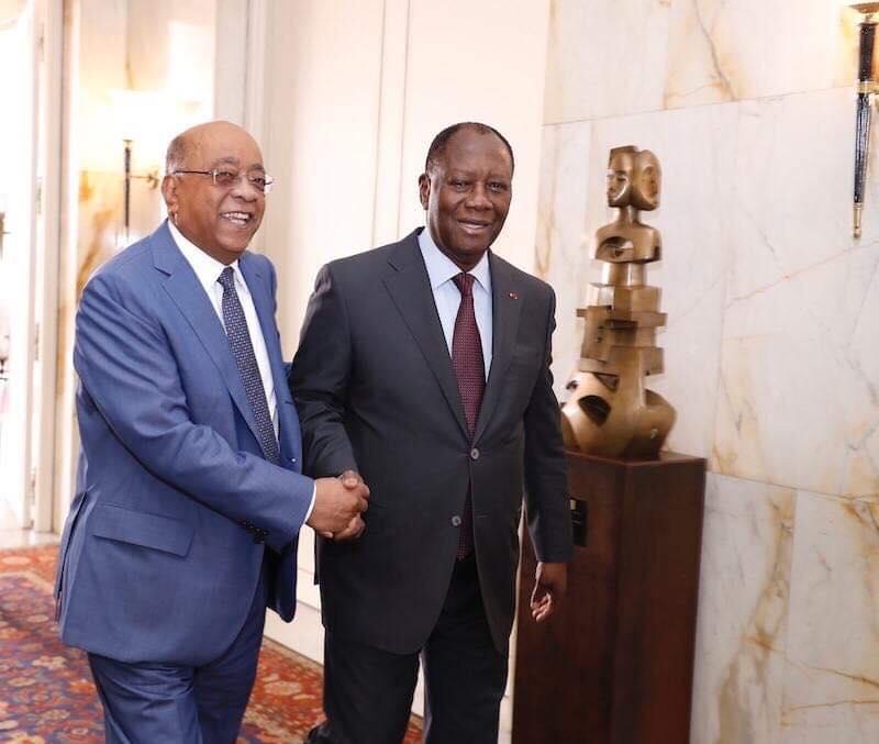Mo Ibrahim,Fondation,rencontres annuelles,Abidjan