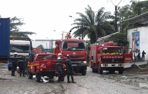 Côte d'Ivoire,Groupement des sapeurs-pompiers militaires,bilan,premier trimestre