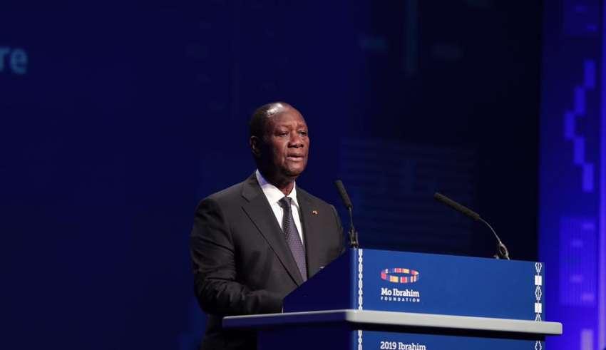 Forum Mo Ibrahim,Alassane Ouattara,Président de la République