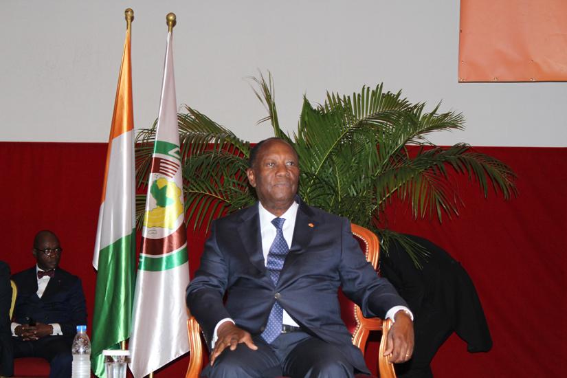 Cote d'Ivoire,Alassane Ouattara,Senat
