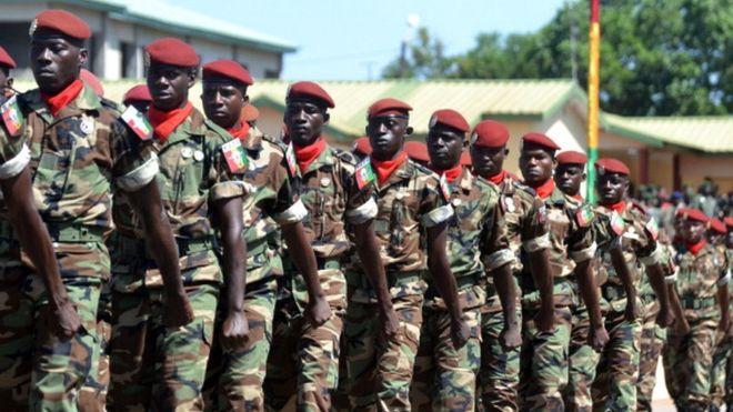 Guinée,Armée