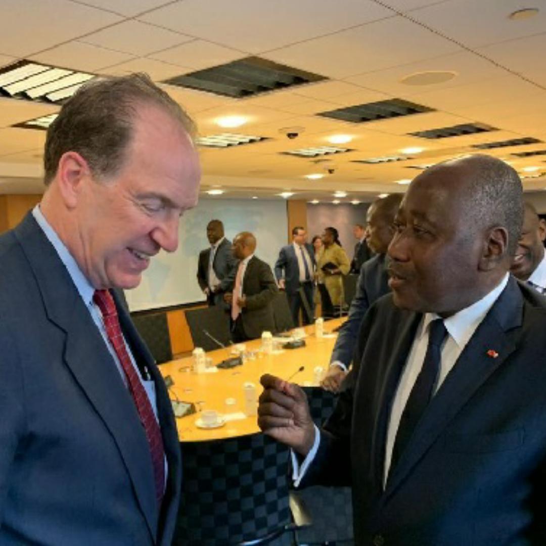 Banque mondiale,Cote d'Ivoire,Soutient,David Malpass