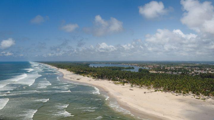 Côte d'Ivoire,Jacqueville,Beach
