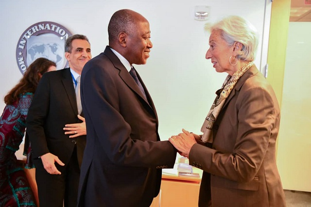 FMI,Gon coulibaly,Christine Lagarde