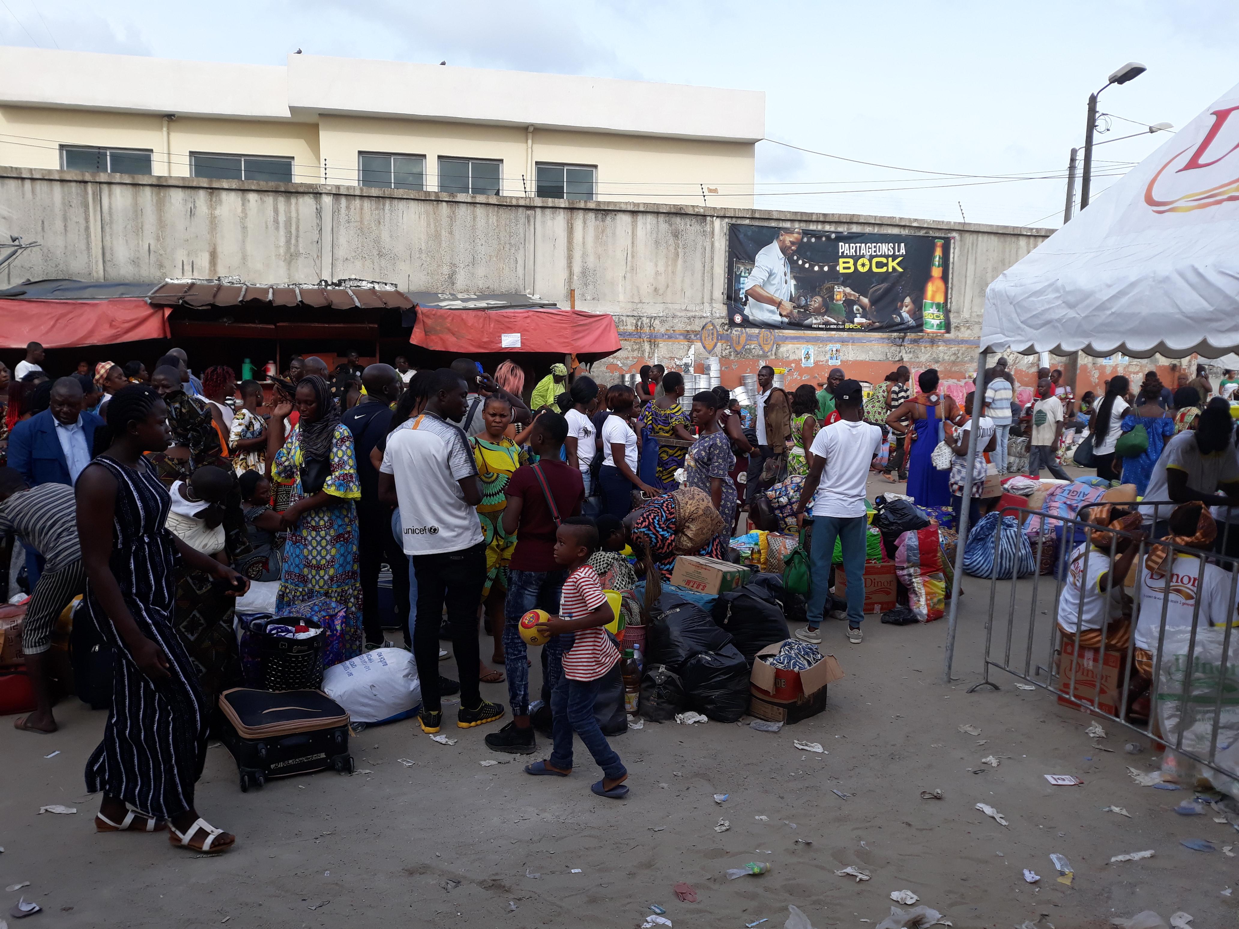 Côte d'Ivoire,Paquinou,gares routières,UTB