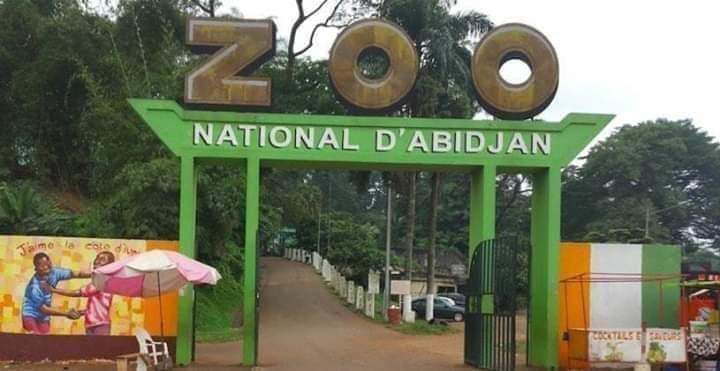 Côte d'Ivoire, Zoo d'Abidjan,  Aline Richard Donwahi,