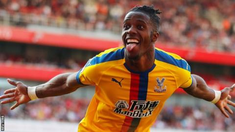 FOOTBALL,WILFRIED ZAHA,Psg,Crystal palace