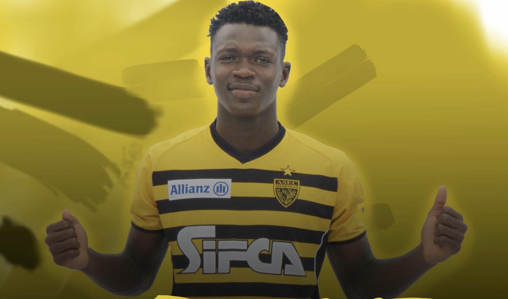 Football,Asec Mimosas,Abdul Faissal Tapsoba