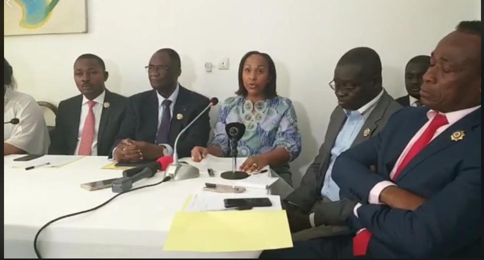 Côte d'Ivoire,Assemblé nationale,Groupe parlementaire PDCI-RDA Rassemblement Vox Populi
