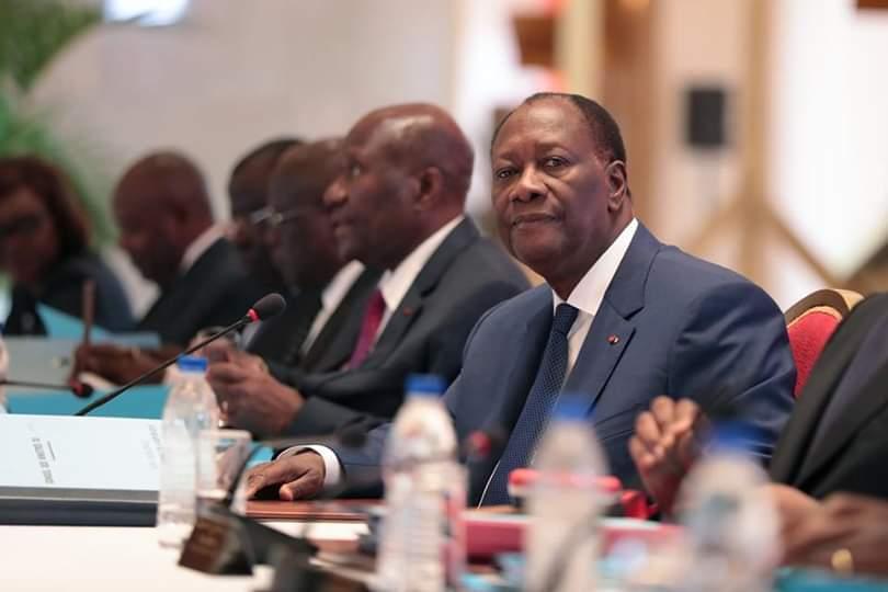Conseil des ministres,Communiqué,Alassane Ouattara