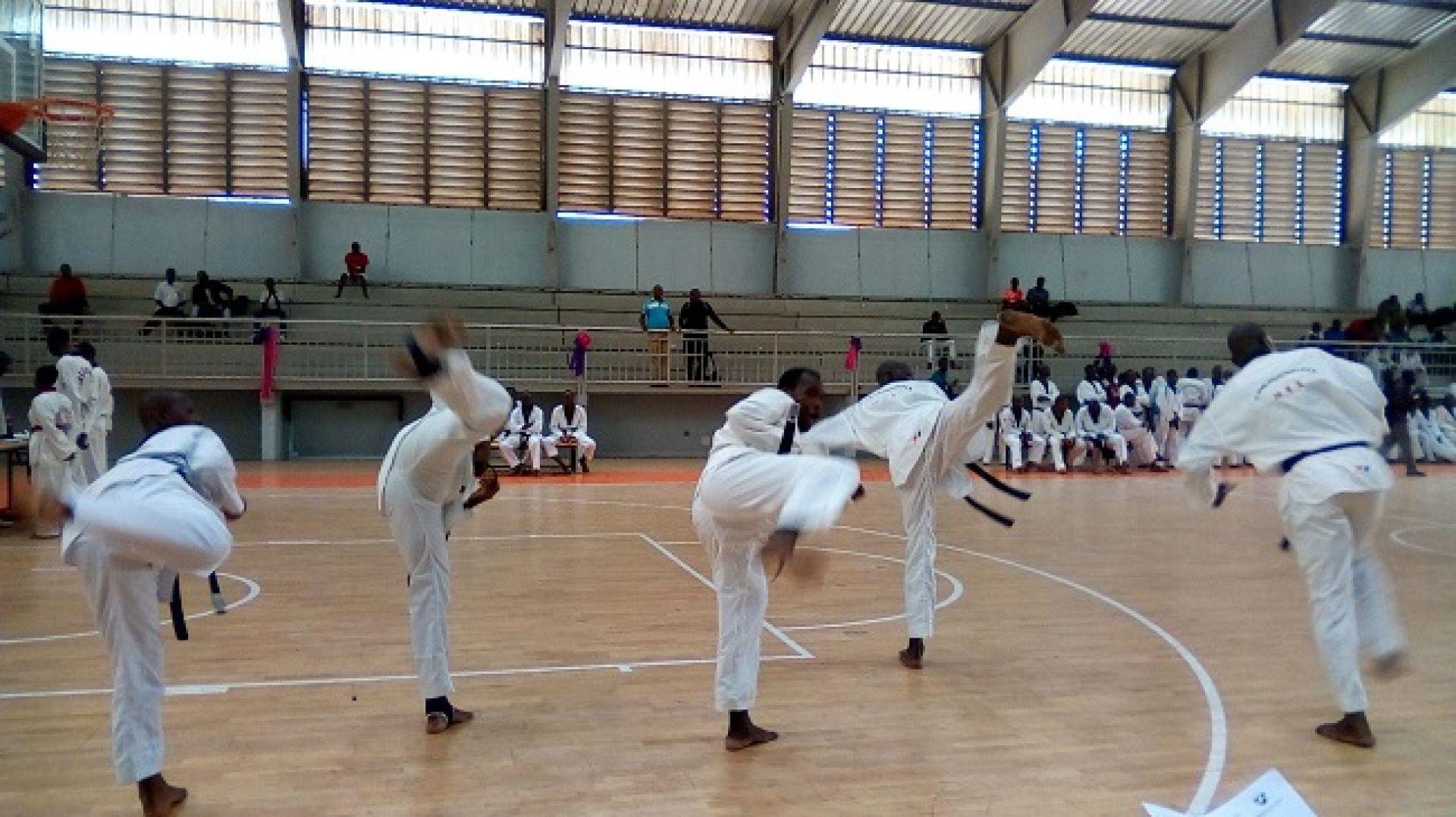Taekwondo,Championnat d'Afrique de Police