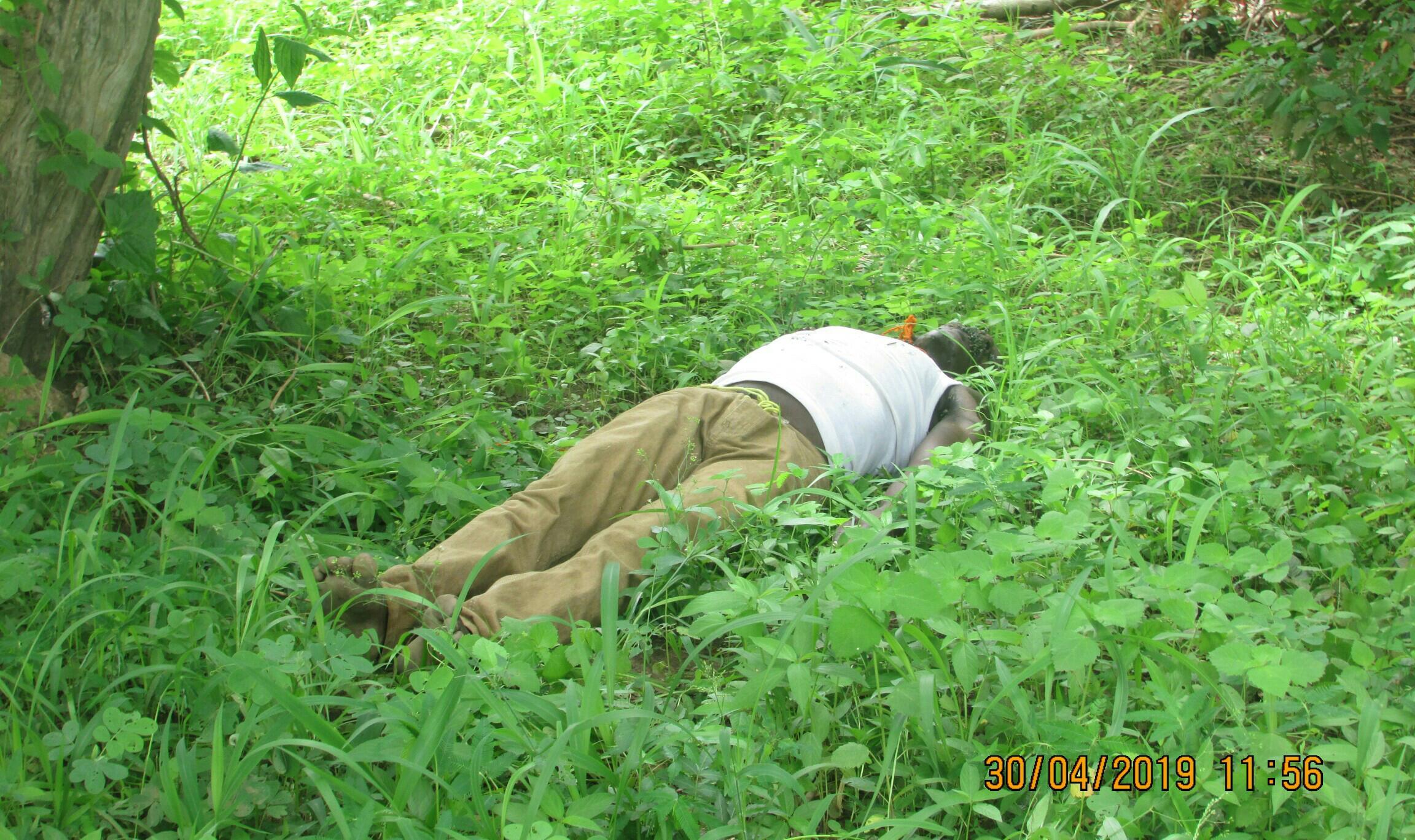 Côte d'Ivoire,Un homme retrouvé mort
