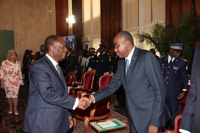 Côte d'Ivoire,Fête du travail,Présidence,Absence Ouattara