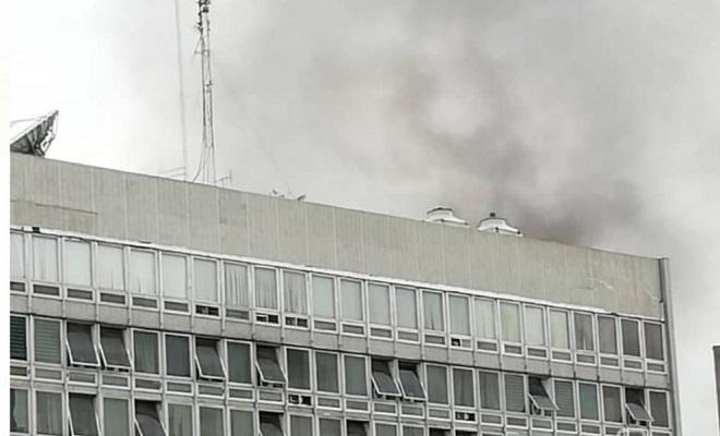 cote-divoire-un-incendie-declare-a-limmeuble-de-la-banque-cnce-au-plateau