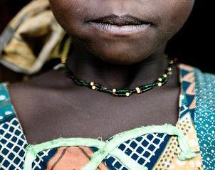 Côte d'Ivoire,Odienné,Une fillette donnée en mariage
