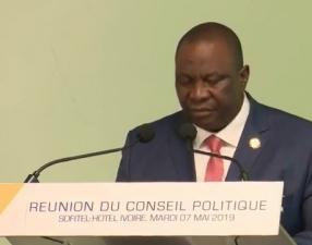 Conseil politique du RHDP,Kobenan Kouassi Adjoumani