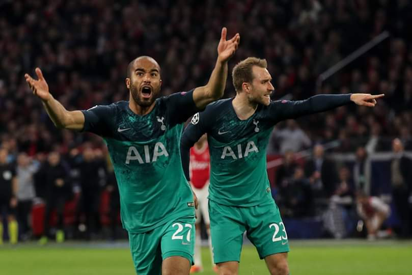 Football,Ajax,Tottenham,Liverpool,Lucas Moura