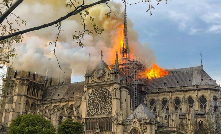 Notre Dame de Paris,Enquête,Incendie