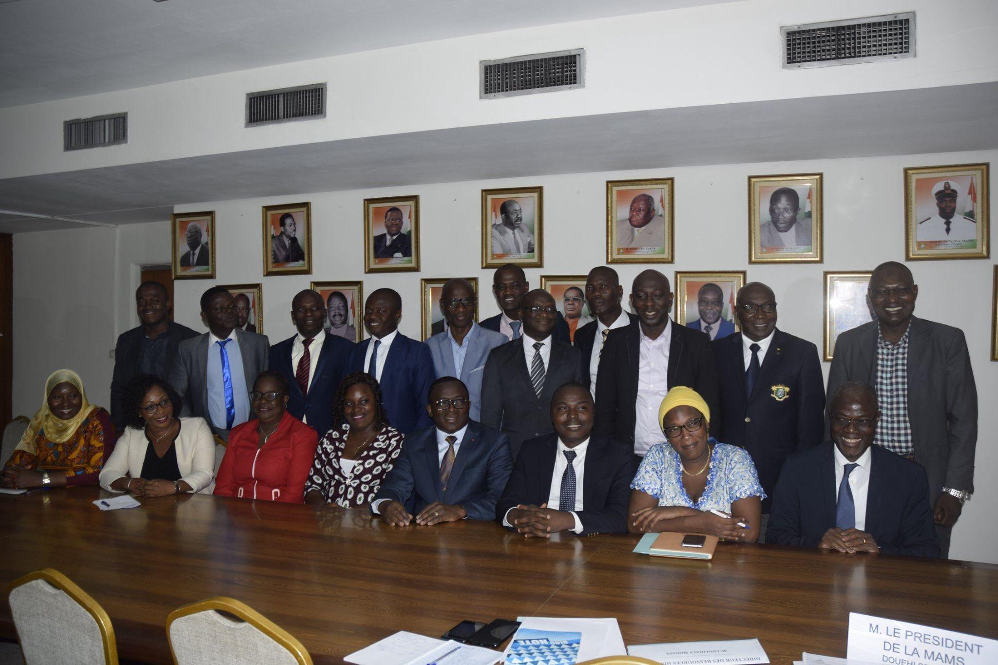 Ministère des Sports,Danho Paulin,Mutuelle,Mams