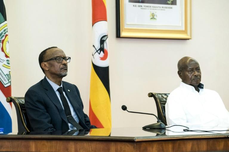 Rwanda,Ouganda,Kagame,Museveni