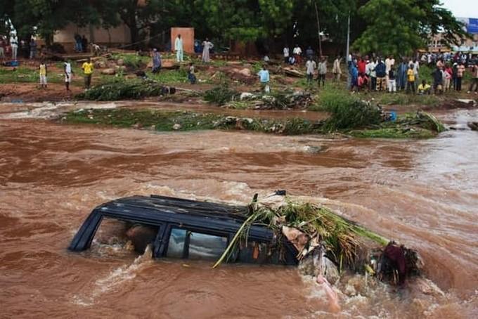 pluies diluviennes,Mali,15 décès,inondations