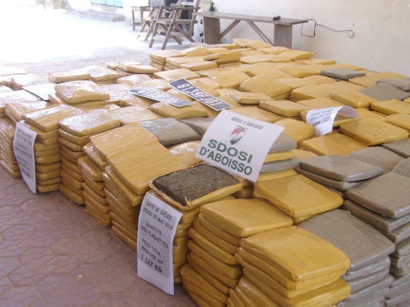 Saisie de drogue à Aboisso,condamnation du policier