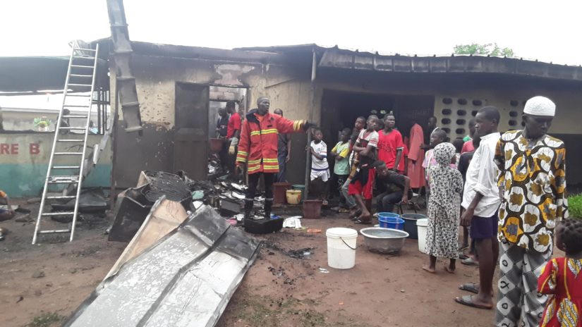 incendie à Bouna,Groupe scolaire Bouna 2